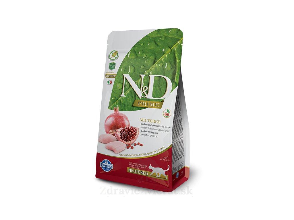 farmina n d cat gf neutered chicken pomegranate