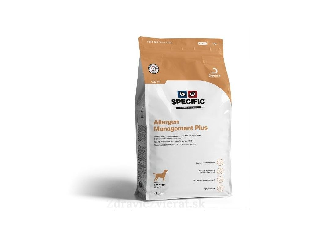 specific cod hy allergy management plus 4 kg