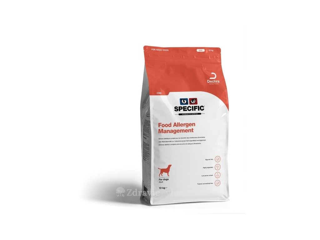 specific cdd food allergy management 12 kg