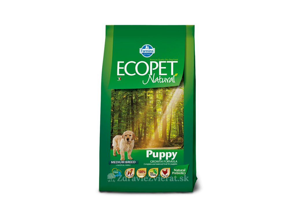 farmina ecopet dog puppy medium