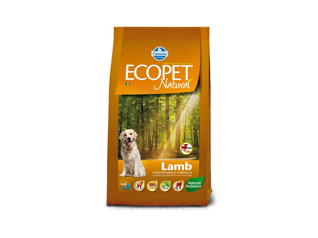 farmina ecopet dog lamb mini