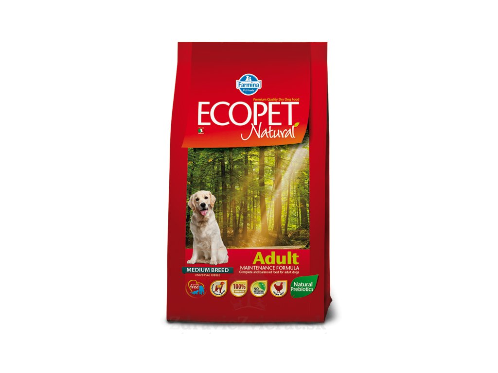 farmina ecopet dog adult medium