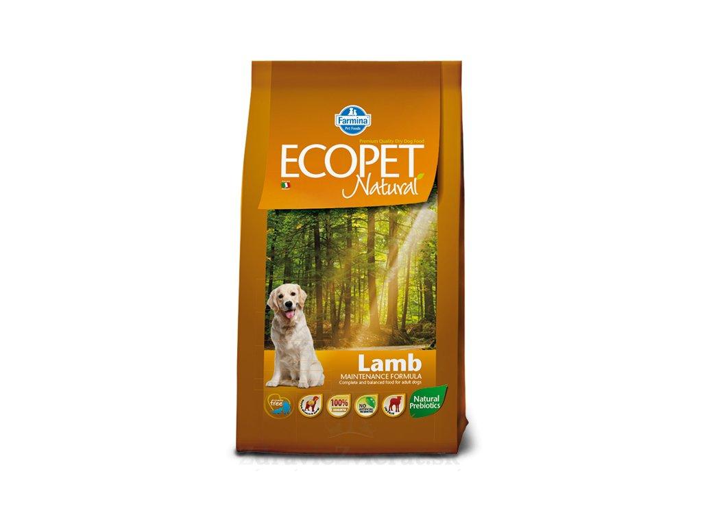 farmina ecopet dog lamb medium