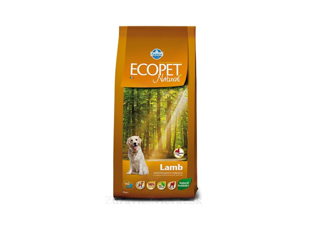 farmina ecopet dog lamb maxi