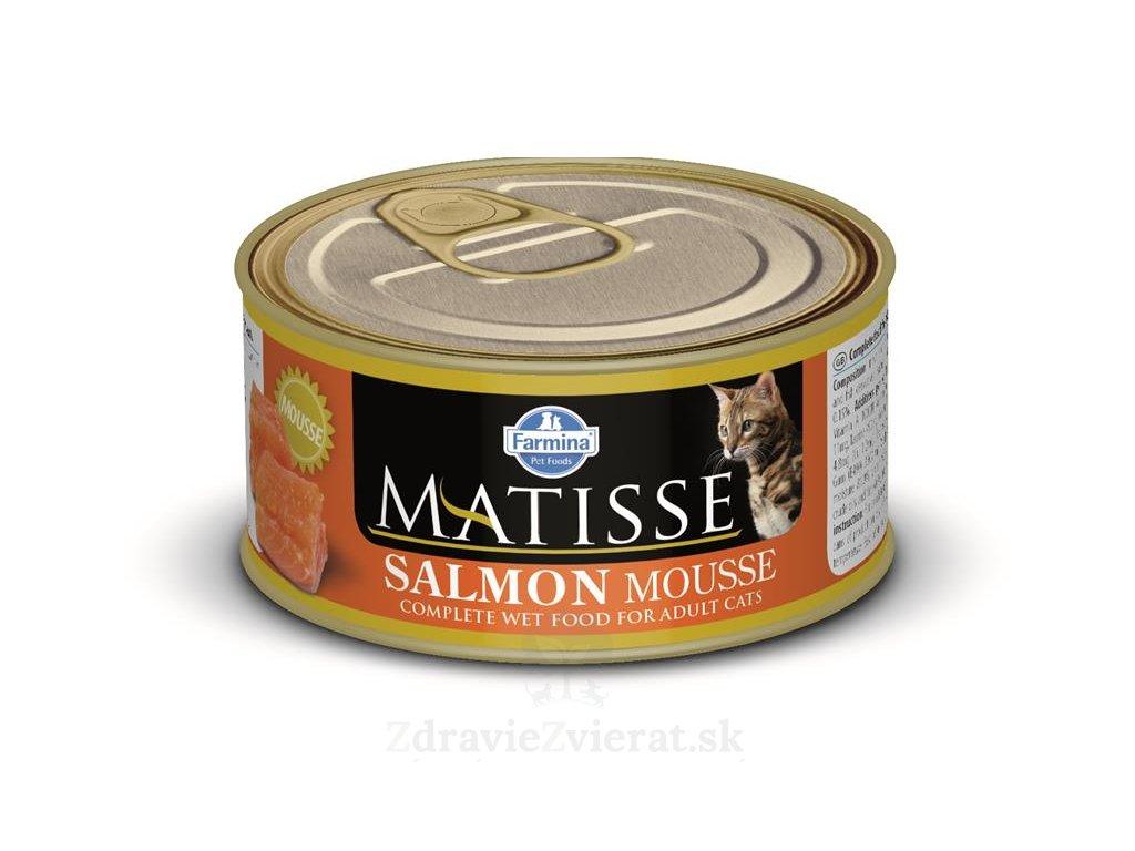 farmina matisse cat salmon pena 85 g konzerva