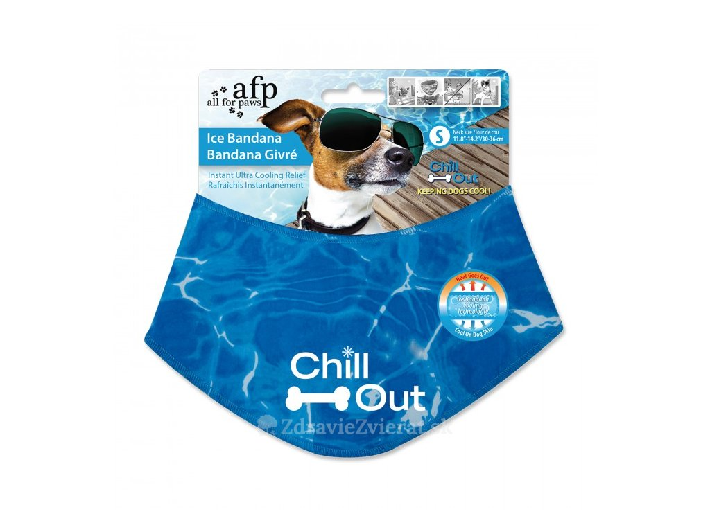 afp ice bandana chladiaca satka s