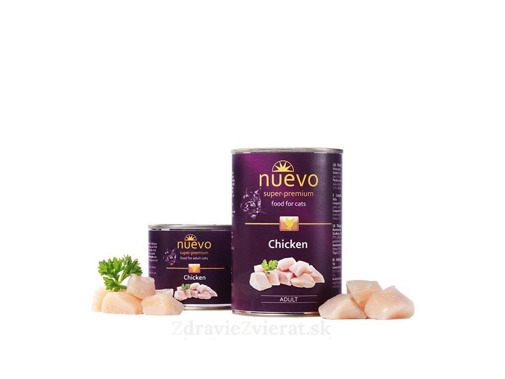 nuevo cat adult chicken 200 g konzerva