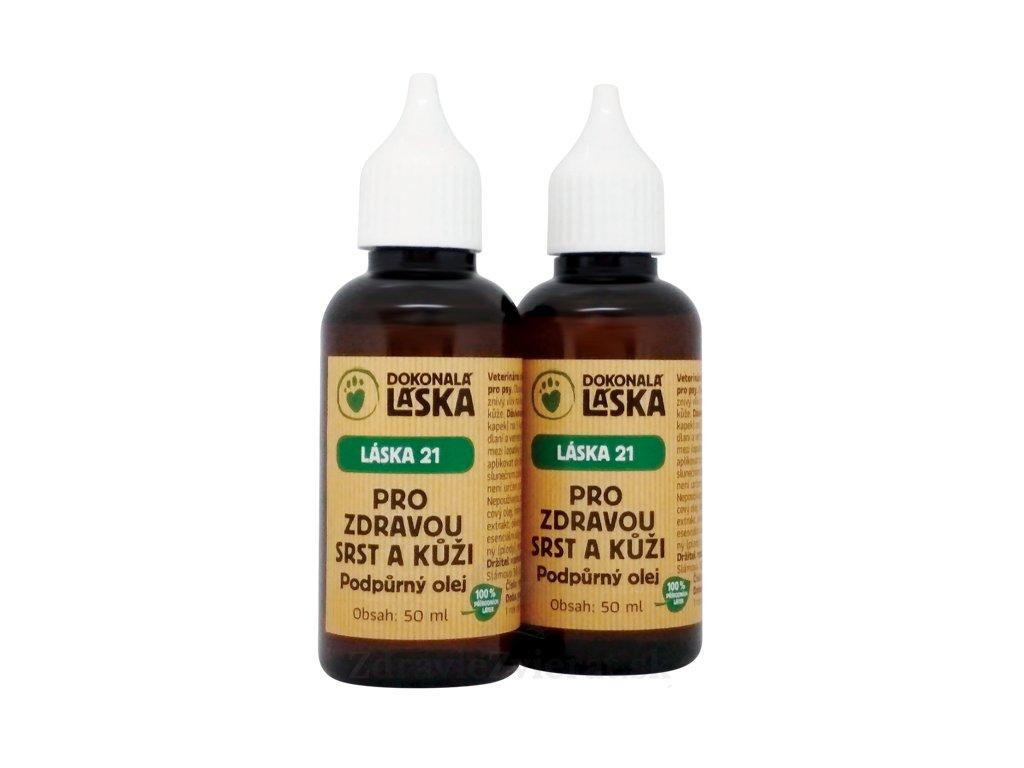 dokonala laska pre zdravu kozu a srst podporny olej 100 ml