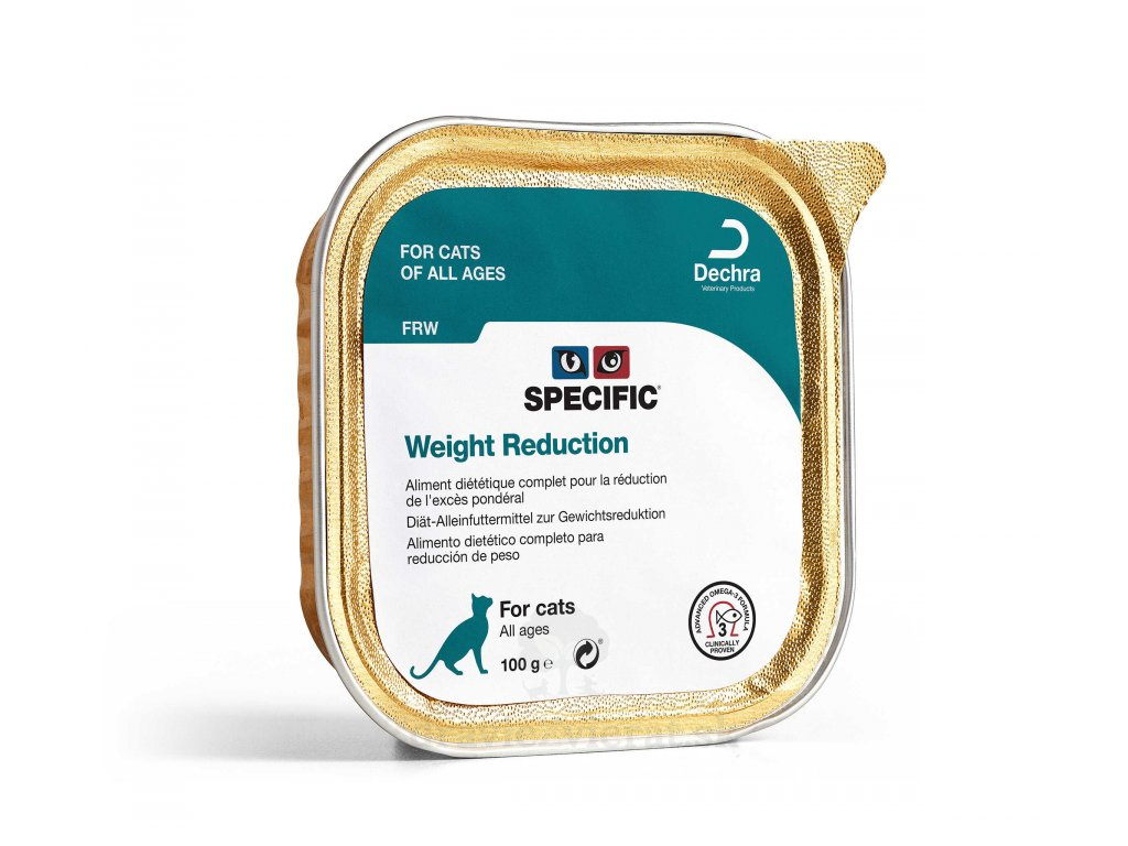 specific frw weight reduction 7x100 g