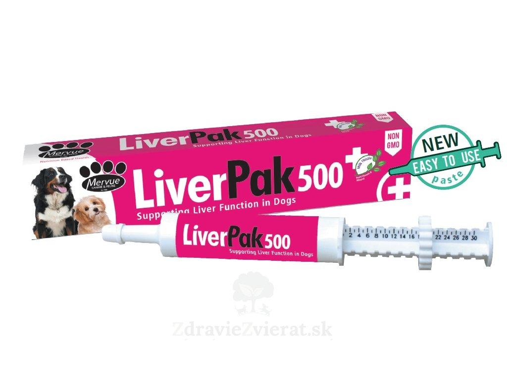 liver pak 500 pasta pre psov 60 ml