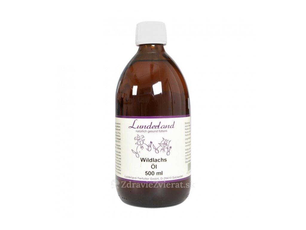 lunderland lososovy olej 500 ml