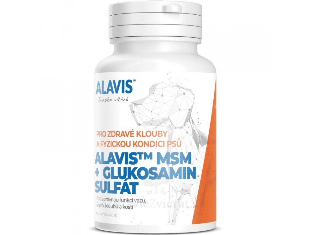 alavis msm glukosamin sulfat 60 tbl