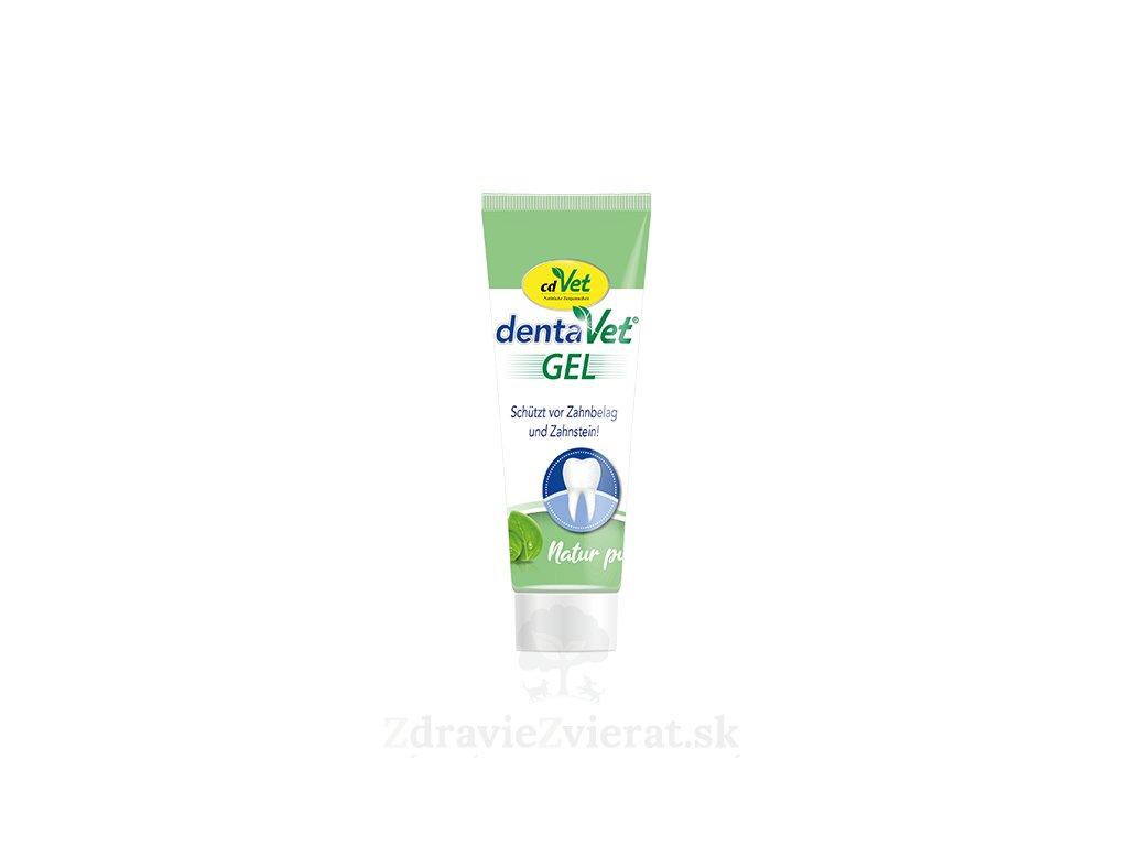 cdvet gelova zubna pasta 25 ml