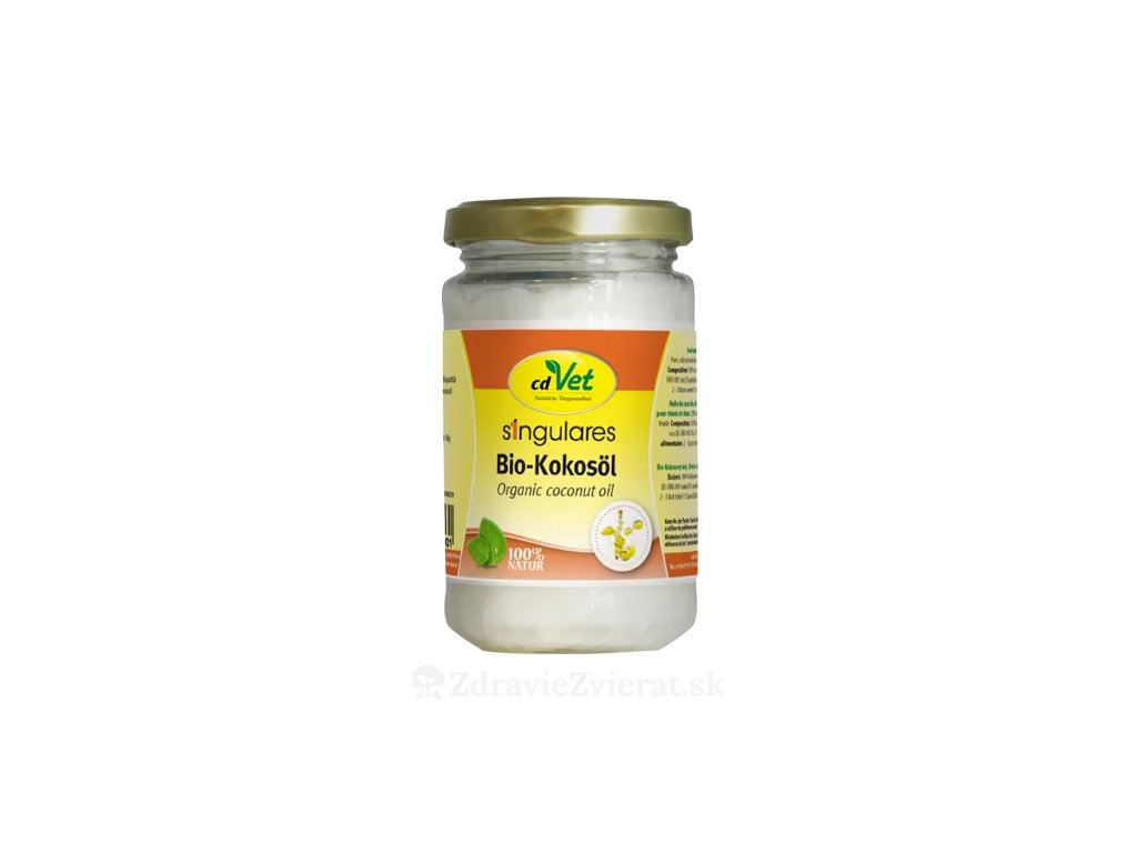 cdvet bio kokosovy olej 200 ml