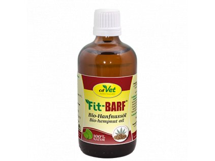 cdvet fit barf bio konopny olej