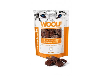 woolf chicken carrot 100g