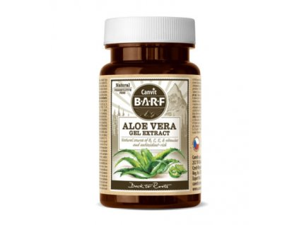 canvit barf aloe vera gel extract 40 g