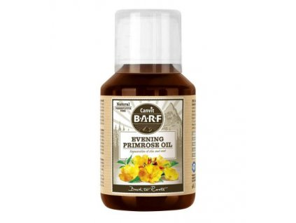 canvit barf evening primrose oil 100ml pupalkovy olej