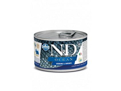 nd ocean canine 140g herring shrimps