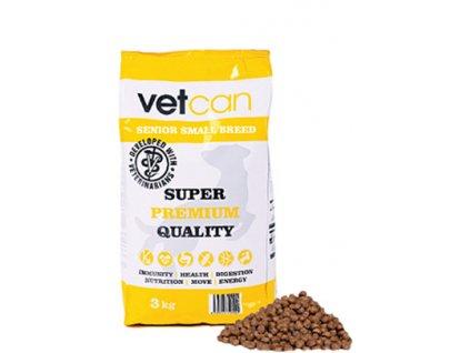 vetcan senior small breed 3 kg