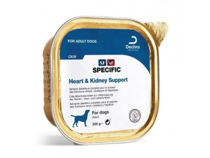 specific ckw heart kidney support 6x300 g