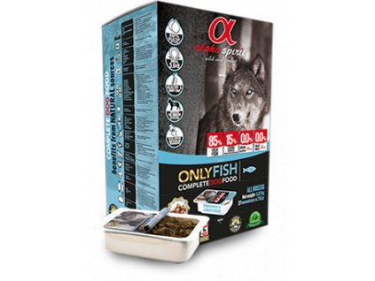 alphaspirit dog only fish 210 g