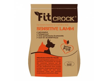lisovane granule fit crock sensitive jahnacie mini 2 kg