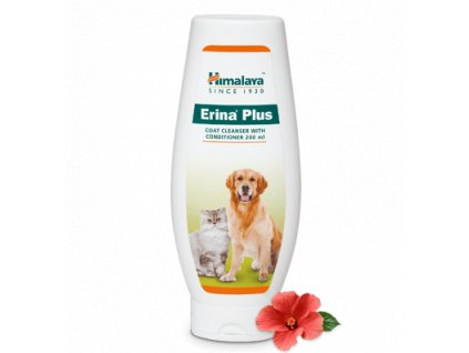himalaya erina plus coat cleanser with conditioner 100 ml