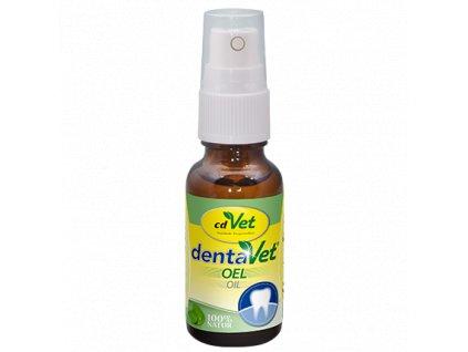 cdvet dentavet olej na zuby a dasna 20 ml