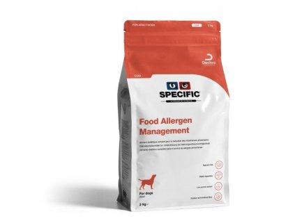 specific cdd food allergy management 2 kg