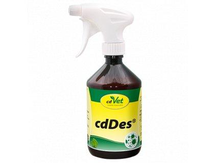 cdvet prirodna dezinfekcia cddes 500 ml