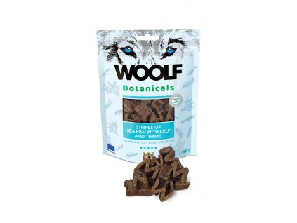 woolf dog botanicals seafish stripes with kelp and thyme 80 g