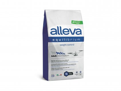 alleva sp equilibrium dog weight control chicken ocean fish adult mini medium 2 kg