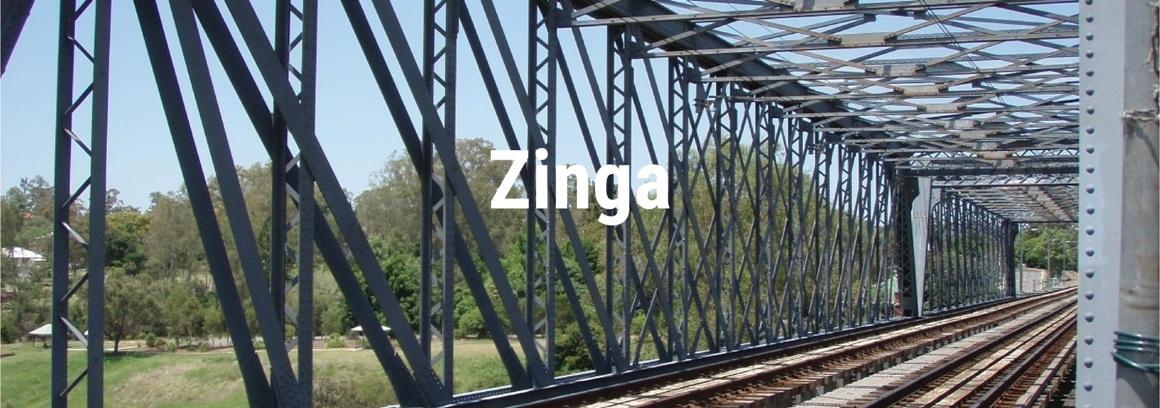 zinga železnice