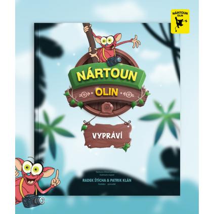 Kniha pro děti: Nártoun Olin vypráví
