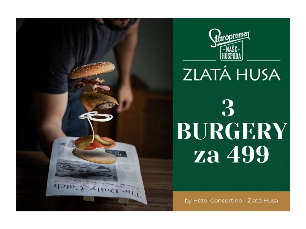 akce burgery 499