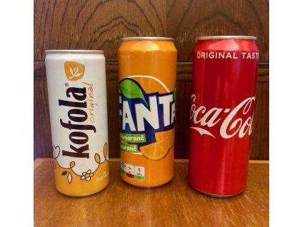 Coca-Cola - plech - 0,33lt