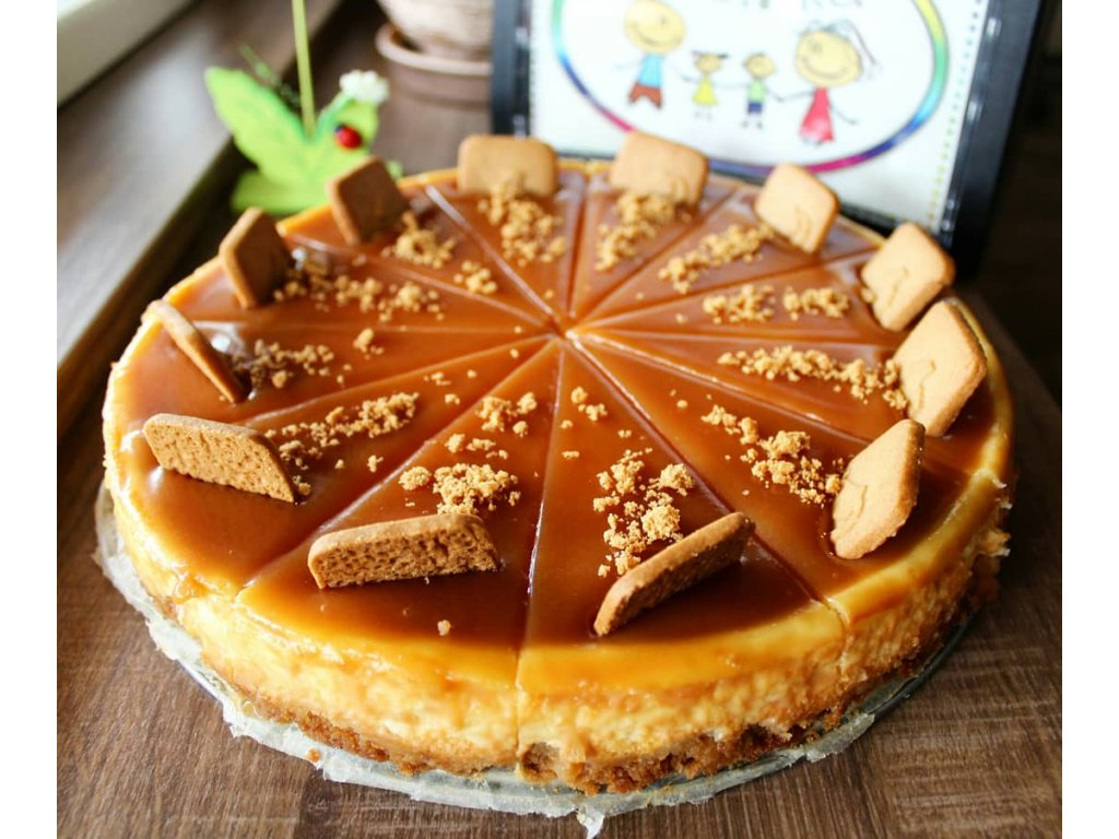 cheesecake slaný karamel