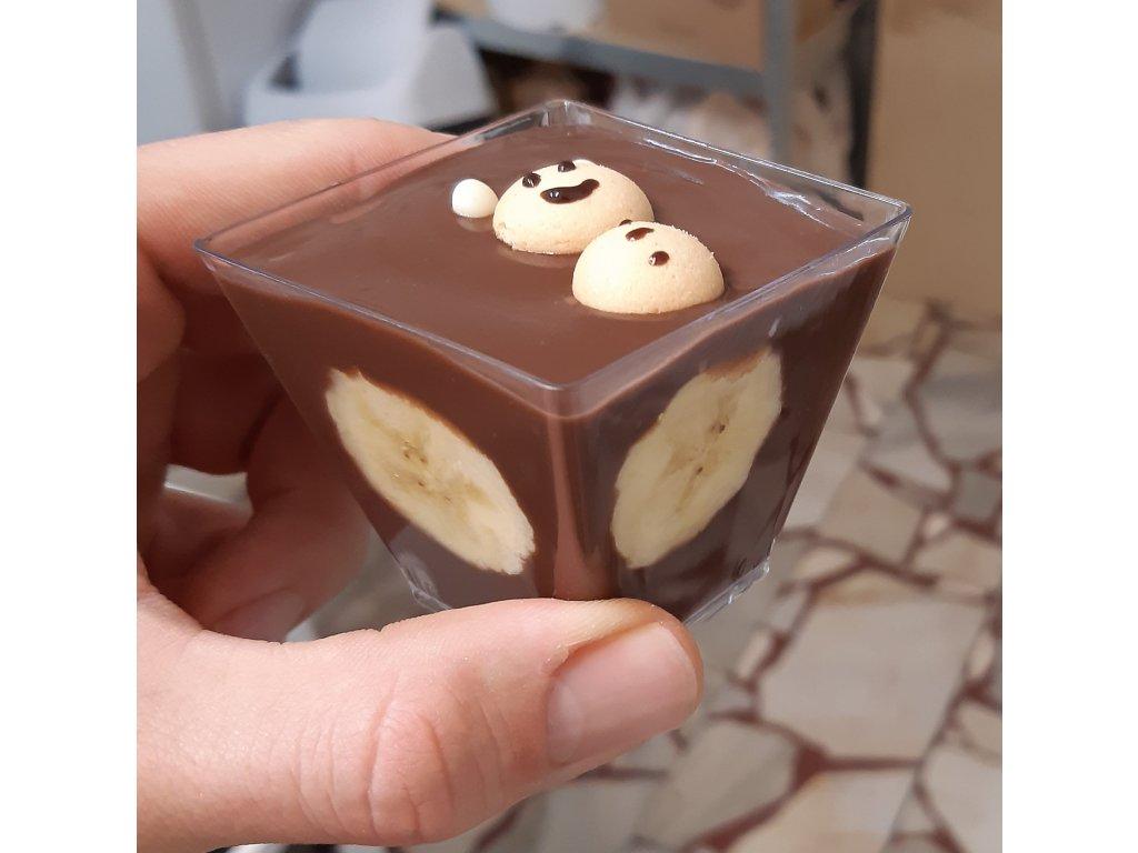 banany v cokolade