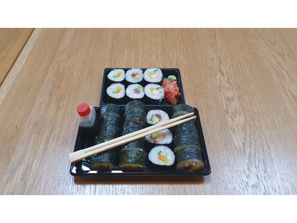 SUSHI set MAKI - 24 ks - mix