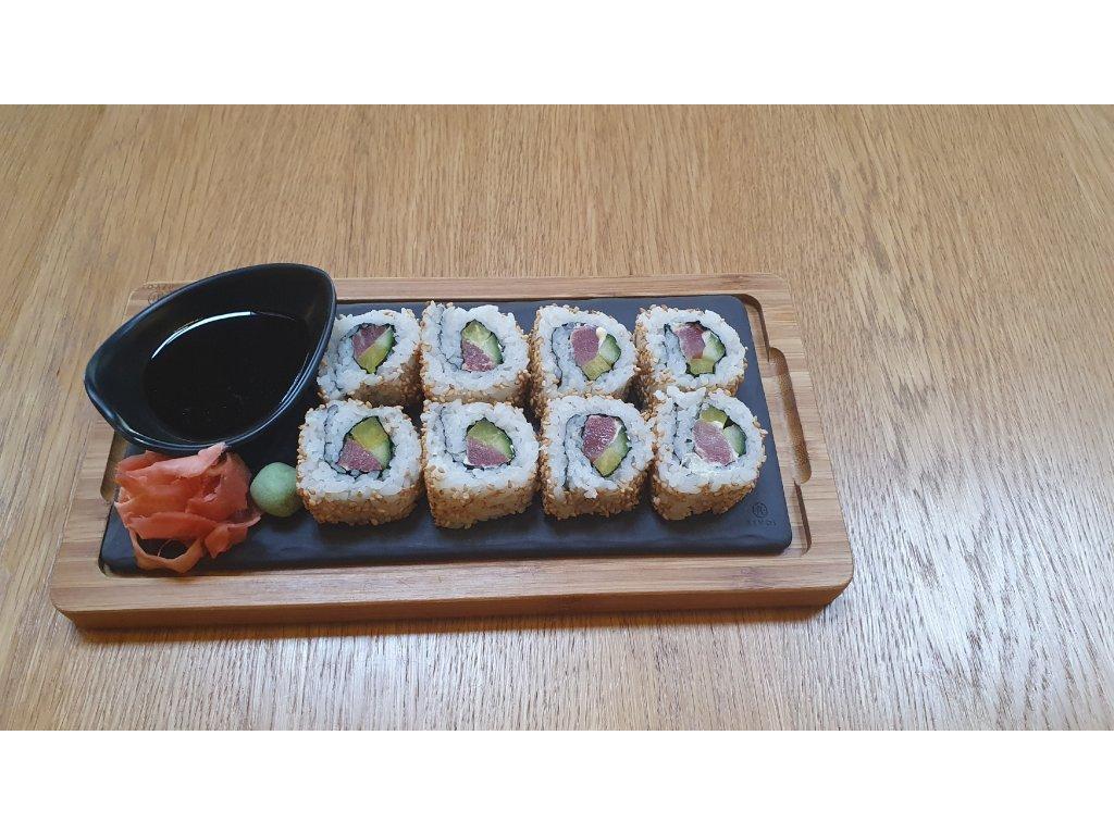 SUSHI CALIFORNIA rolka / 8ks - Tuňák