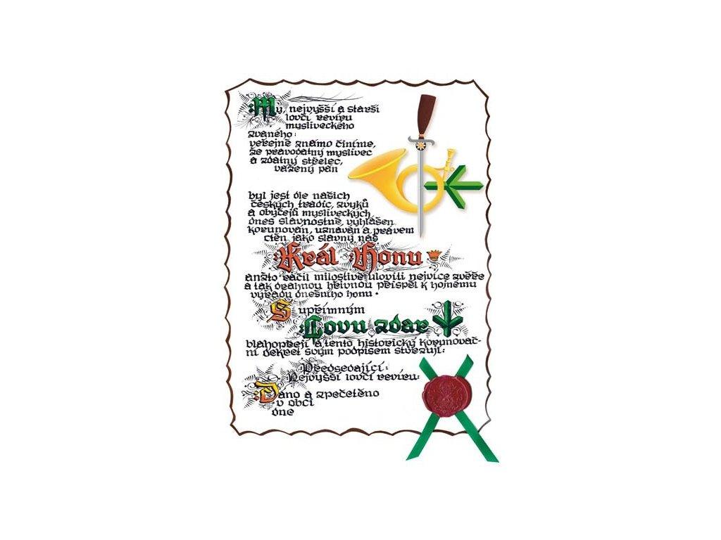 Král Honu A3 logo les.roh