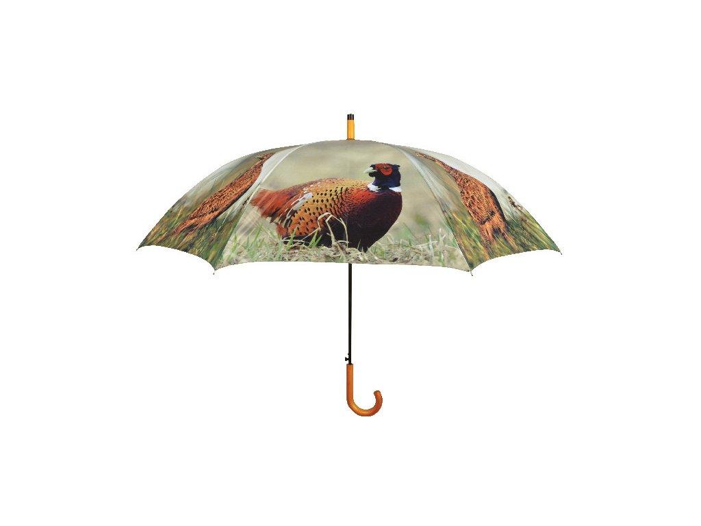 Deštník vystřelovací velký Bažanti