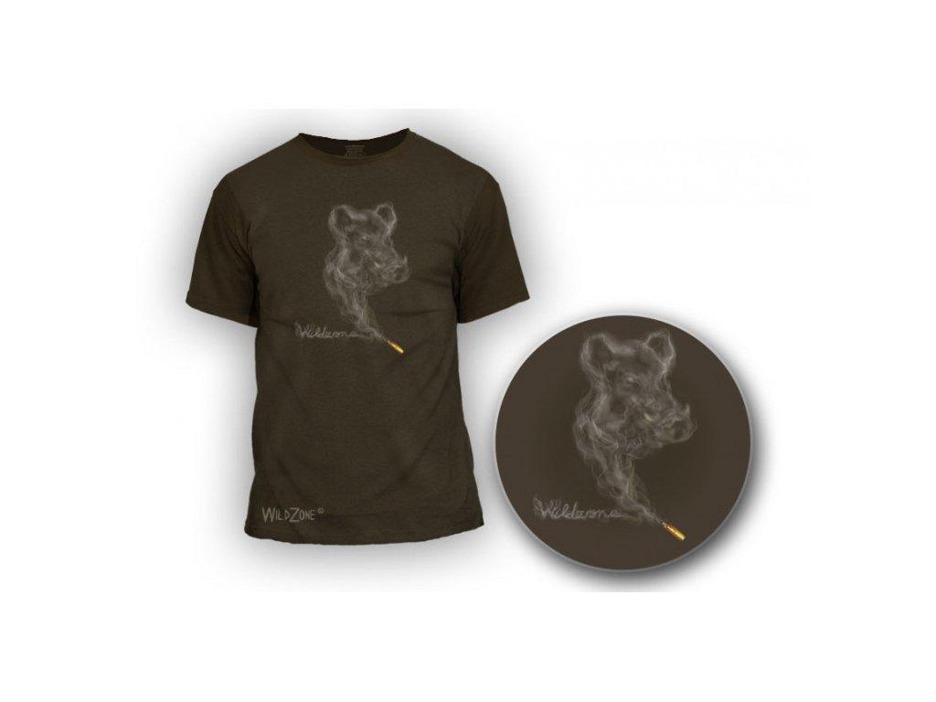 Triko divočák-kouř