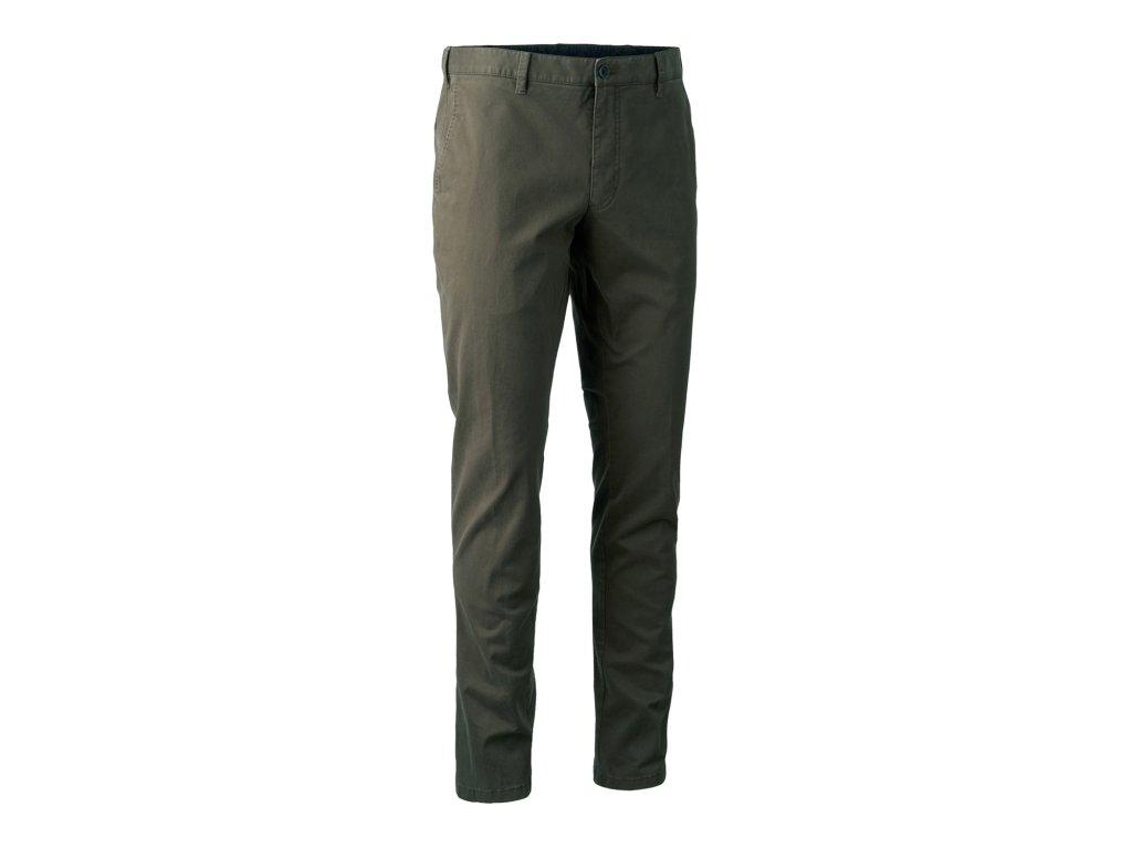 Kalhoty Casual hnědé