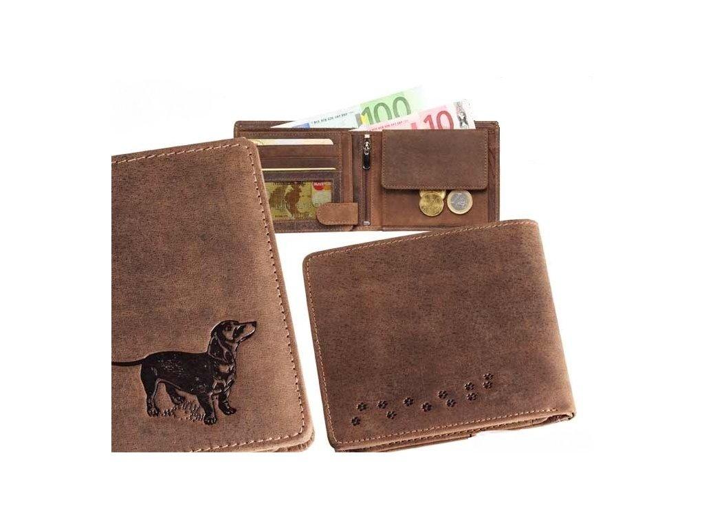 peněženka MZ šířka- Jezevčík 3
