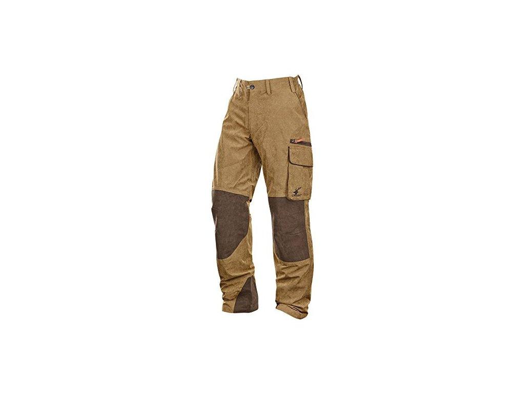 Kalhoty Scot´land hnědé