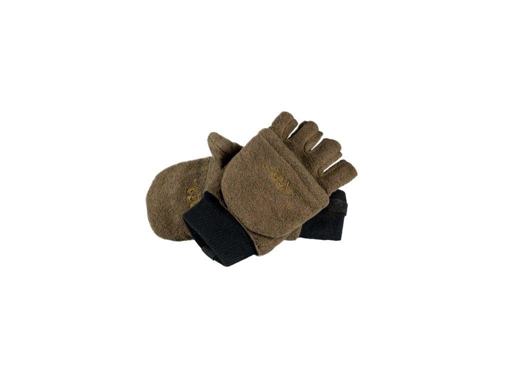 rukavice hnědé 111042-574