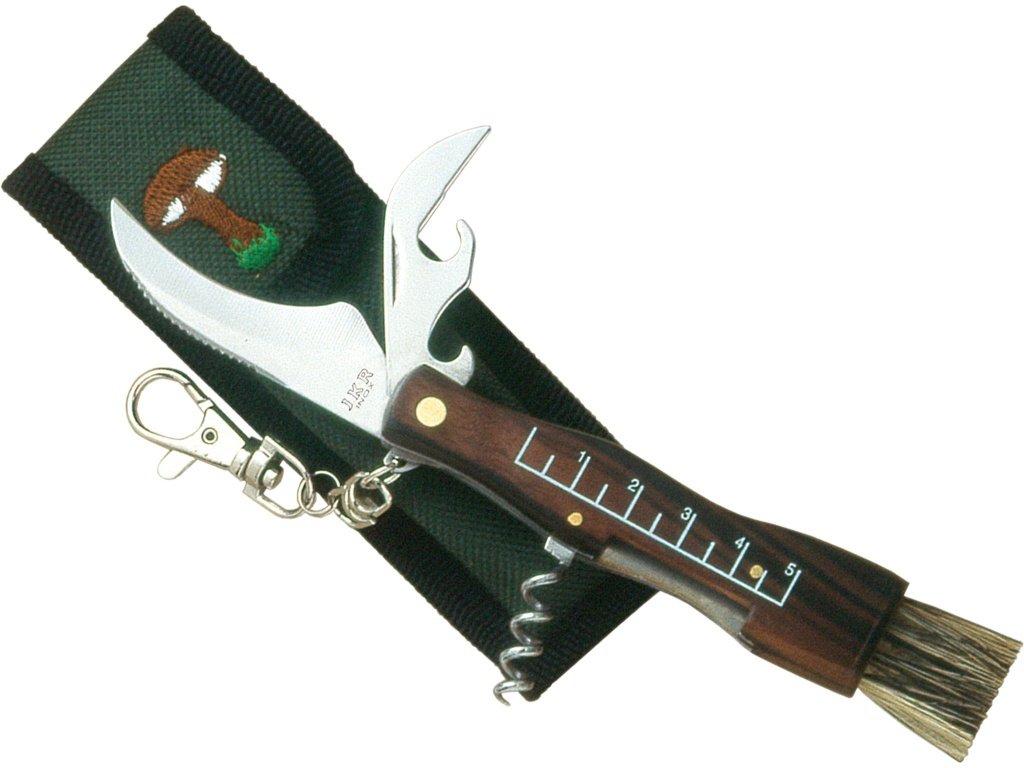 nůž JKR  90 houby+otvírák,štetinka,vývrtka