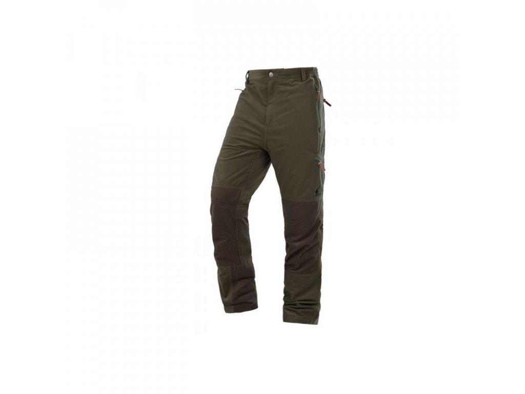 Kalhoty Boissy zelené